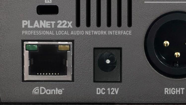 Netzwerk-Anschluss beim ESI planet 22x