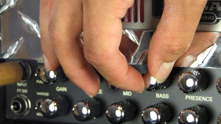 Gitarrenamp einstellen - Live-Setup für Gitarrenverstärker