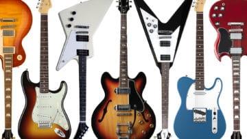 Gitarrenarten Gitarren Typ