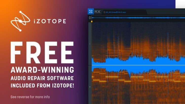 iZotope RX 7 Elements kostenlos