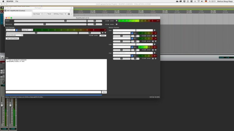 Audionetzwerke in der Musikproduktion