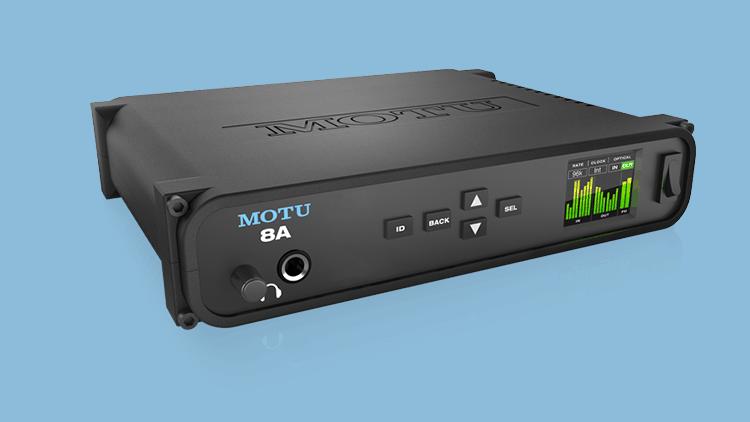 netzwerk audio interface motu a8