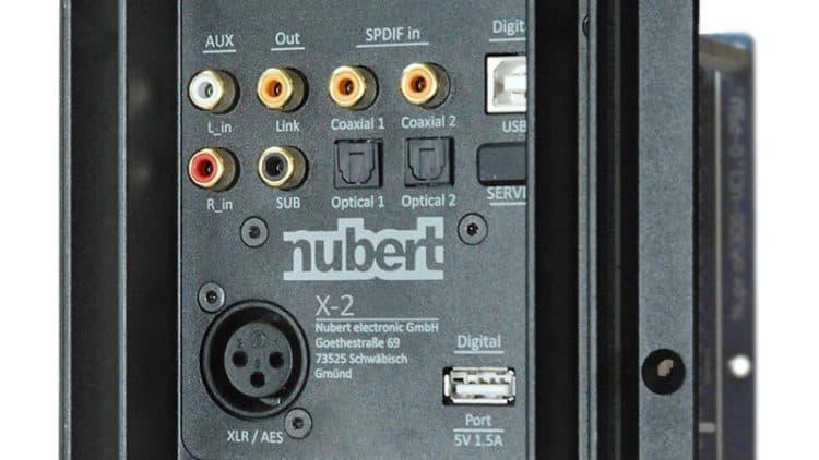 Nubert Nupro X-3000 Anschlüsse