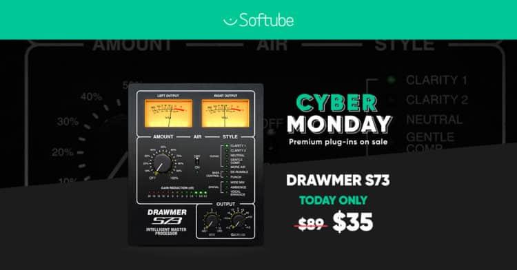 Softube Cyber Monday
