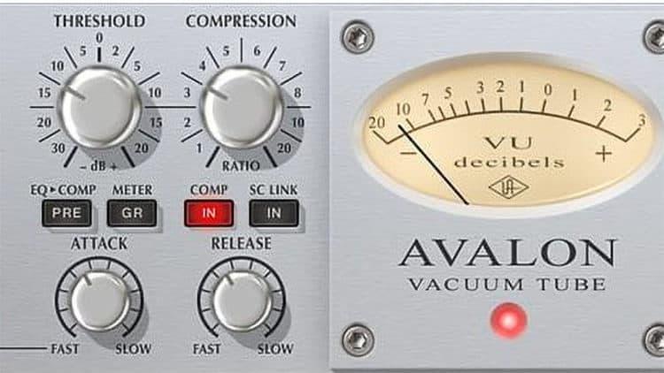 UAD Avalon VT-737 Kompressor im Fokus