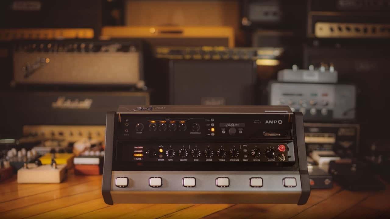 BluGuitar AMP X: Legendäre Röhrenamps im Pedalformat