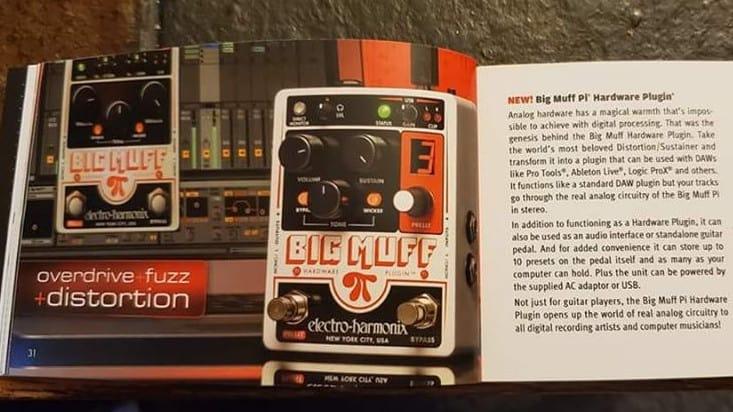 Electro Harmonix Big Muff als Hard- und Software