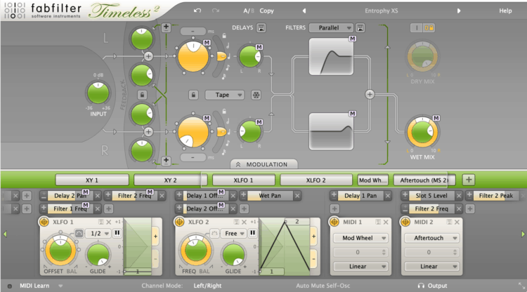 Fabfilter Timeless 2 Delay-Plugin