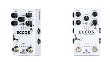 Keeley Eccos Looper und Delay FX