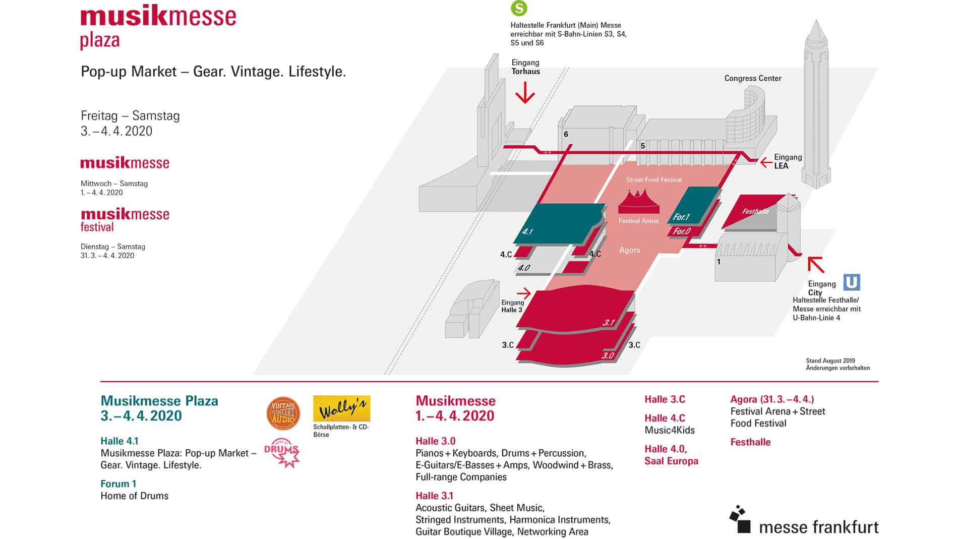 Musikmesse Plaza - Musikmesse 2020