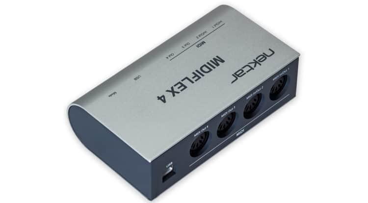 Nektar MIDIFLEX4 4x Port USB MIDI Interface