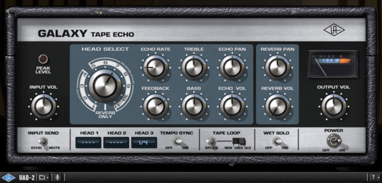 UAD Galaxy Tape Echo
