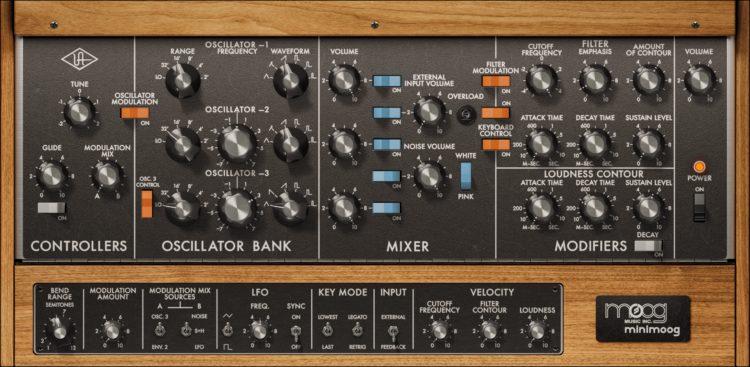 Universal Audio Moog Minimoog