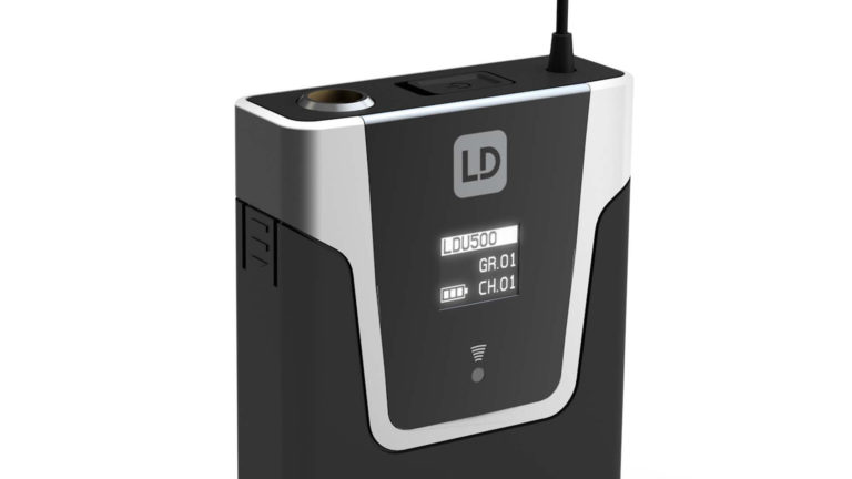 Display des LD Systems Bodypack
