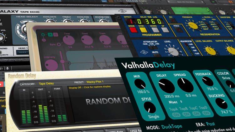 Best-Of Delay-Plugins Topliste