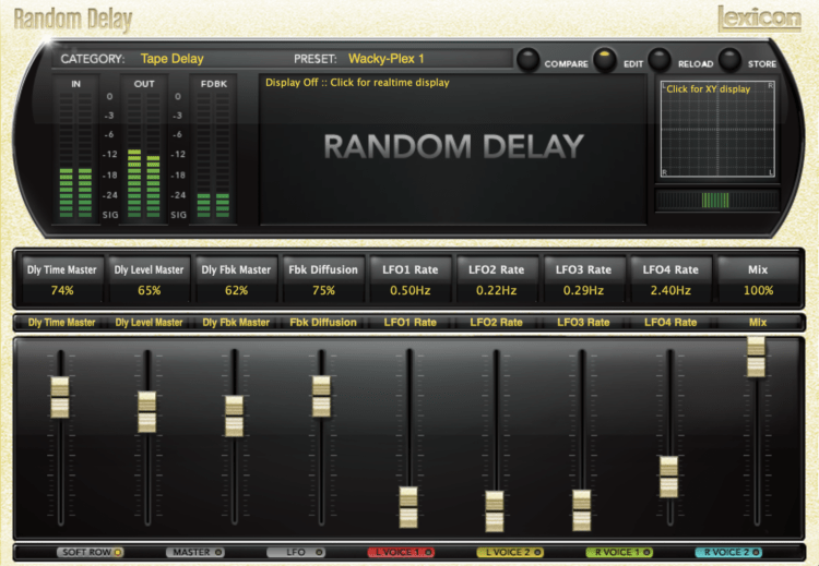 Lexicon PCM Native Random Delay