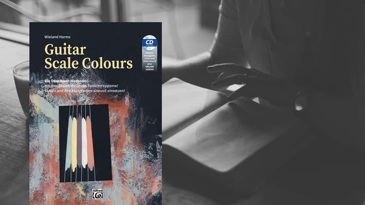 Guitar Scale Colours Buch