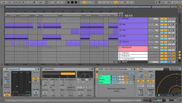 SINEE Ableton Live Templates Test