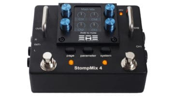 Elite Acoustics Stompmix X4 Test