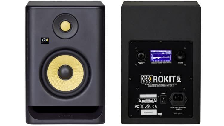 KRK Rokit RP5 G4 Test