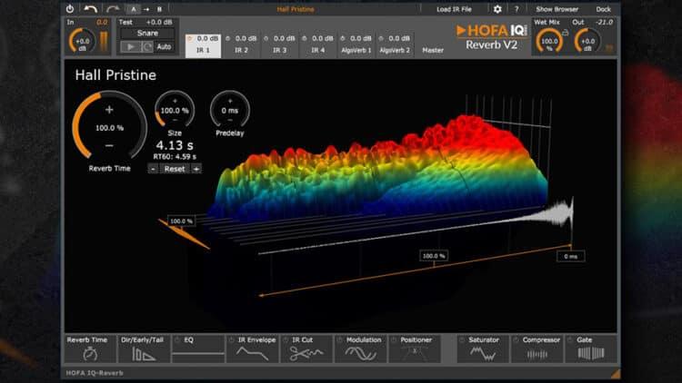 HOFA IQ-Series Reverb V2