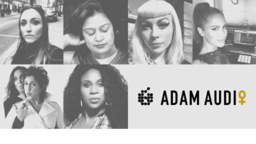 Adam Audio Woman in Music