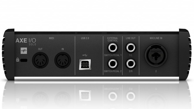 IK Multimedia Axe I/O Solo Back
