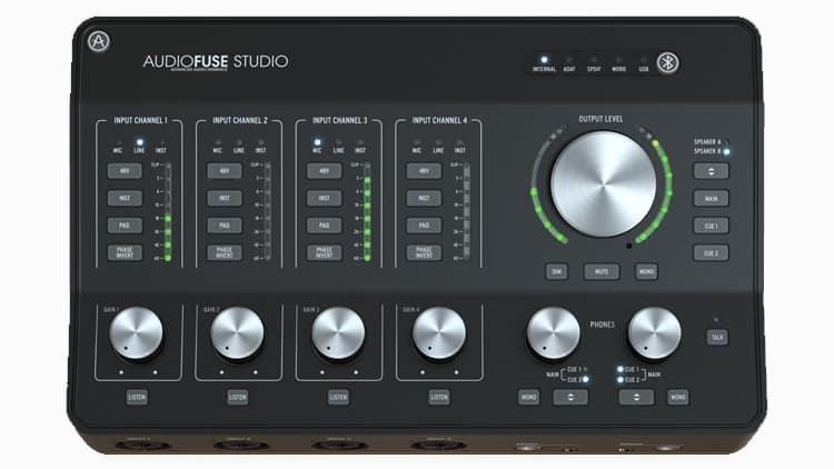arturia audio fuse studio test