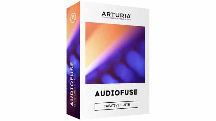 arturia audiofuse creative suite