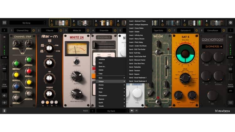 IK Multimedia Mixbox Plugin Send