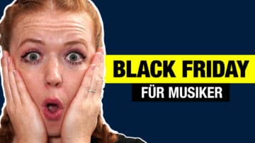 black friday musiker