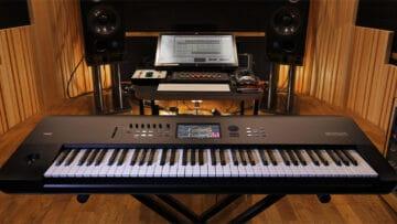 korg nautilus synthesizer