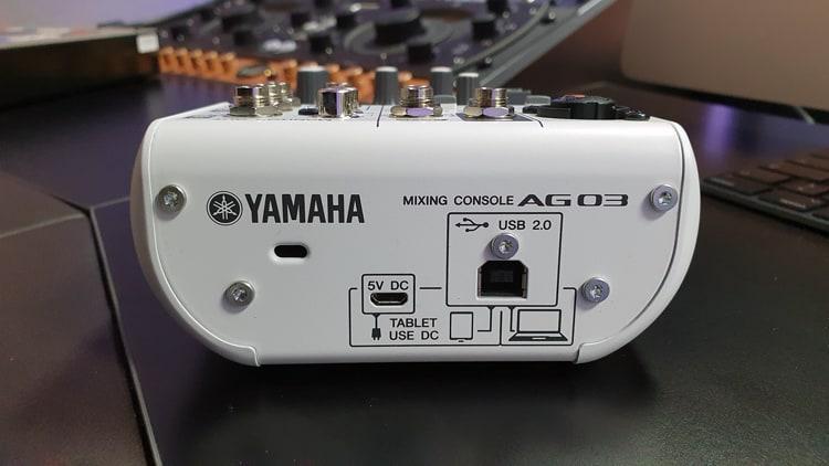 yamaha ag03 test