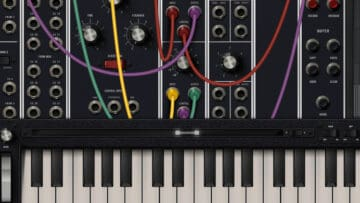 moog model 15 desktop software synthesizer