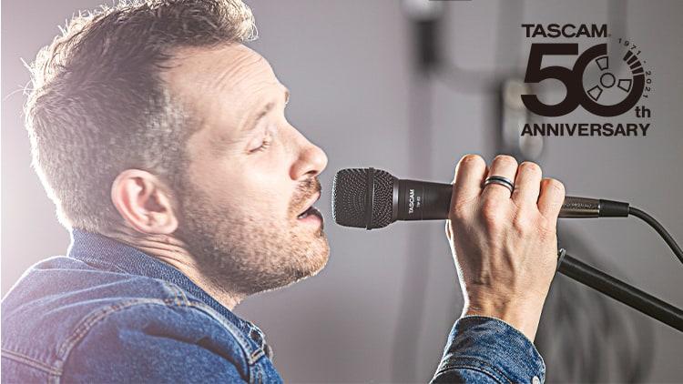 tascam tm-82 mikrofon namm show
