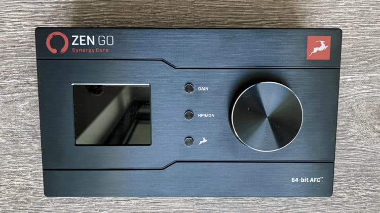 Antelope Audio Zen Go Synergy Core Test