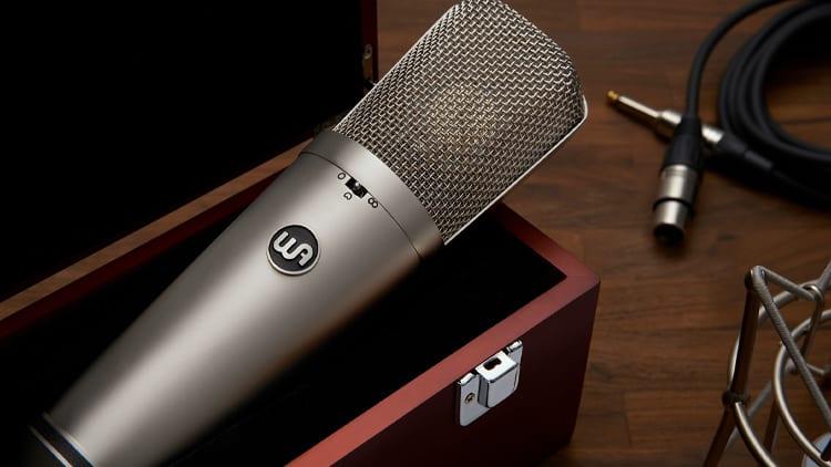 studiomikrofon gesang