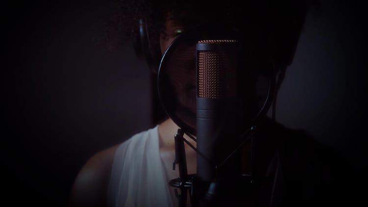 studiomikrofon gesang rap