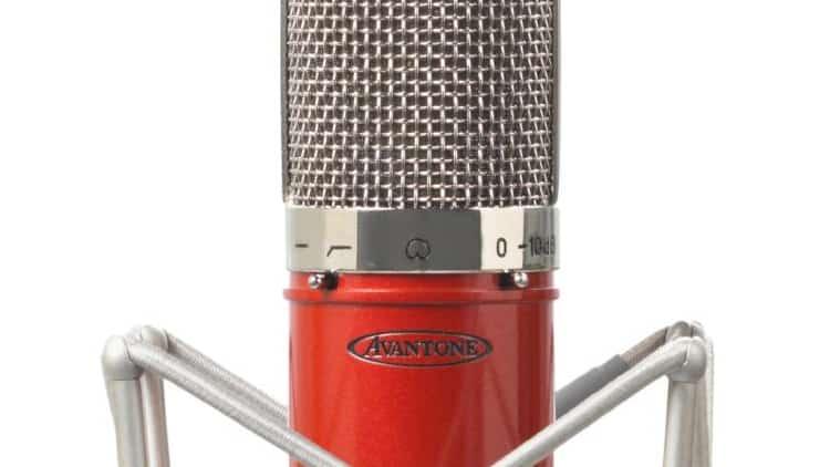 studiomikrofon gesang rapper