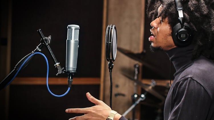 studio mikrofon rap