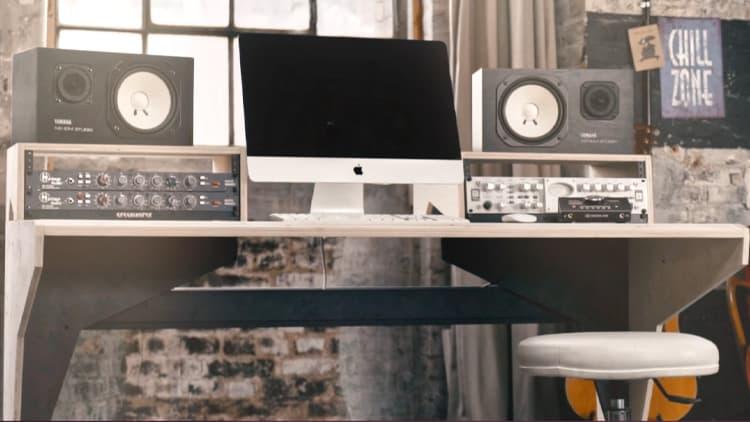 homestudio einrichten studiomoebel