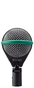 Mikrofon Vergleich: AKG D112 MKII