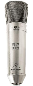 Großmembran Mikrofon Test: Behringer B2 Pro