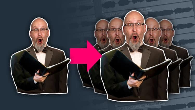 Chor aus einer Stimme