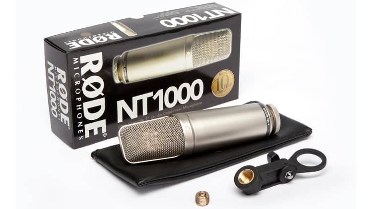 Rode NT1000 test