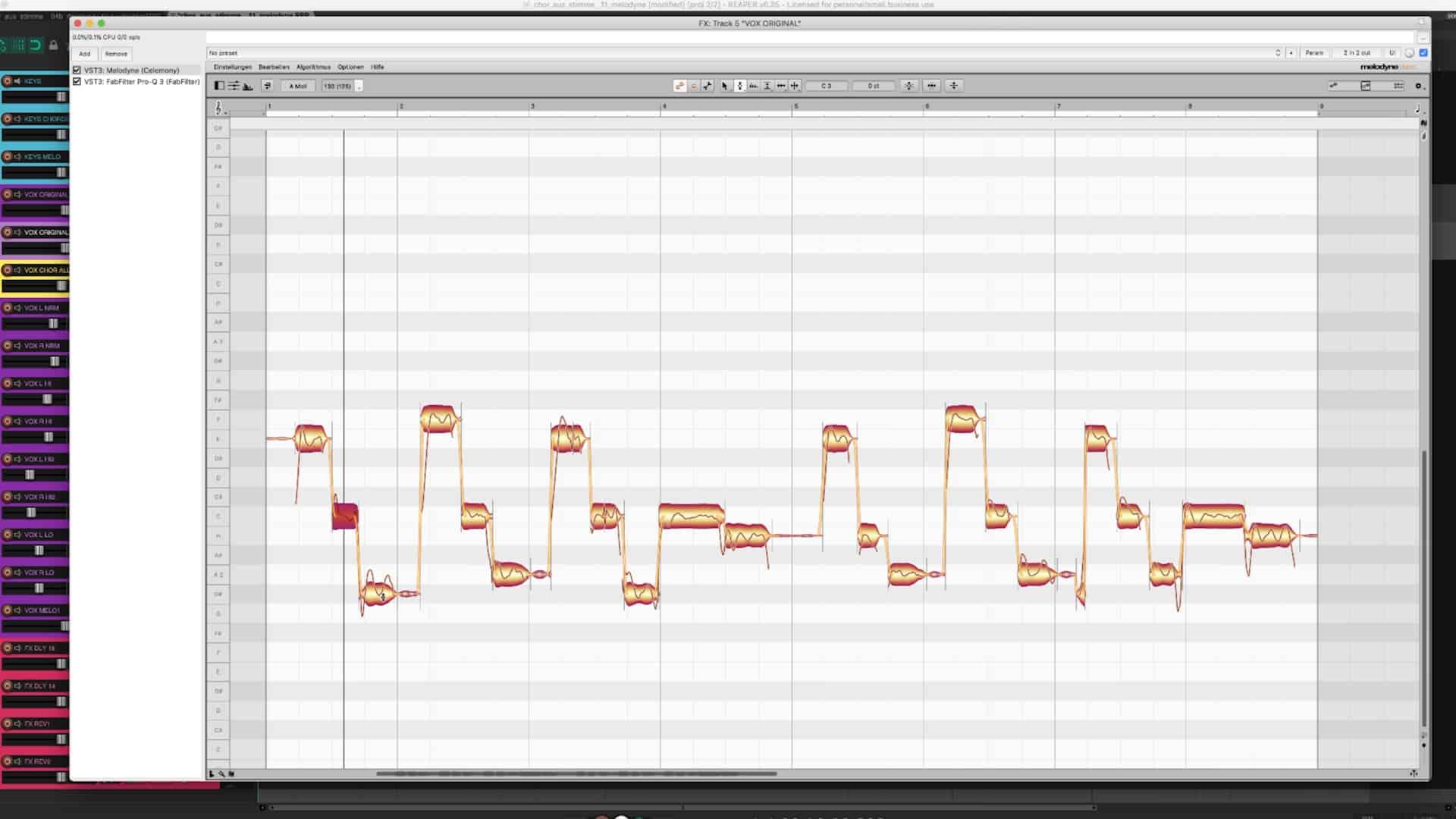 Chor aus einer Stimme SC 22