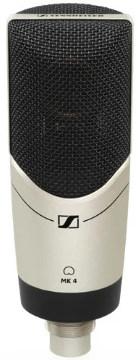 Großmembran Mikrofon Test: Sennheiser MK 4
