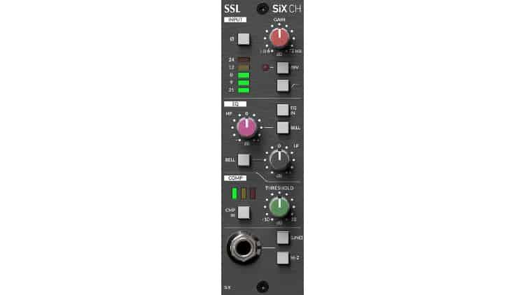 SSL 500 SiX Channel Strip