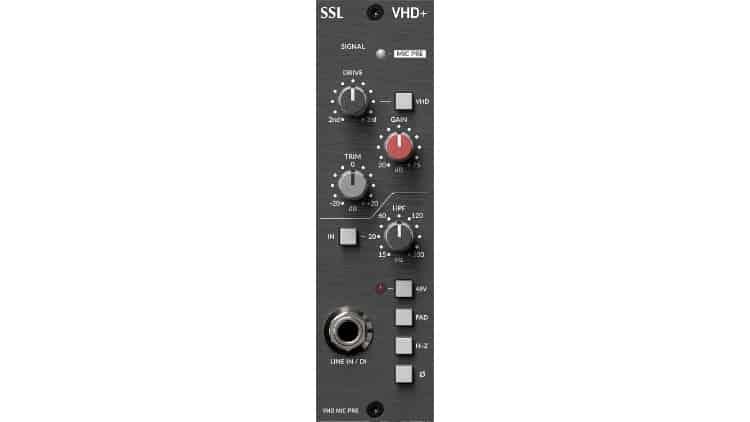 SSL 500 VHD+ Preamp Modul