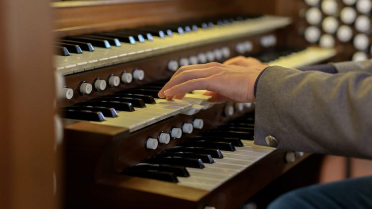 Manuale Orgel Tasteninstrumente